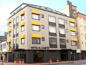 Fachada Hotel el Campin Fuente hotelelcampincom